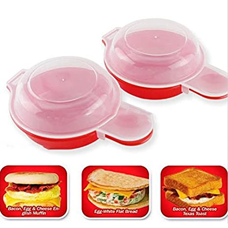 Amazon.com: 1 pieza fácil microondas omelette de huevo ...