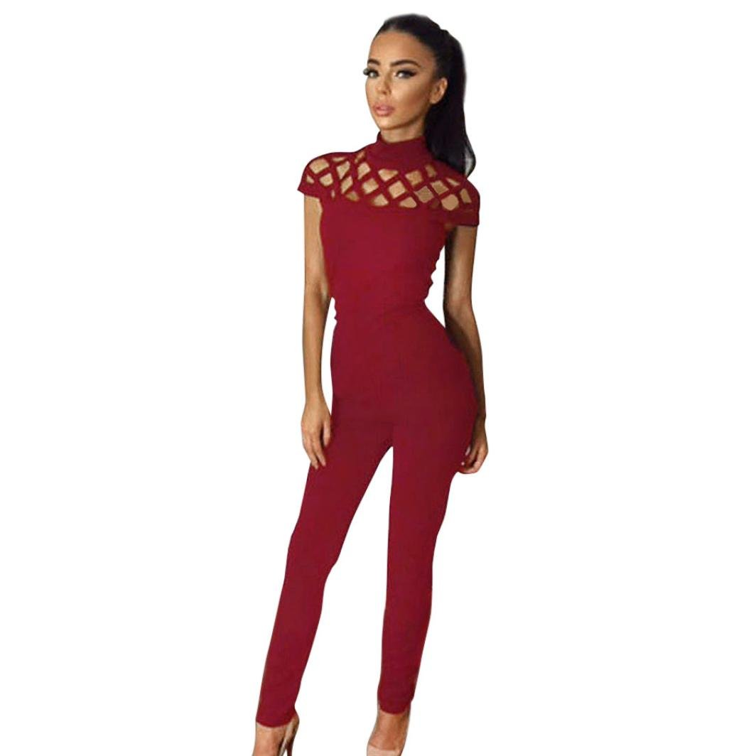 bb189357633 Amazon.com  Caopixx Women Jumpsuit