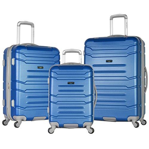 Olympia Denmark 3 Piece Luggage Set, (3 Piece Mesh Luggage Set)