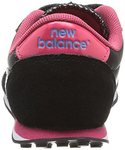 New Balance - Scarpe da ginnastica, Bambina, Nero (Black/Raspberry), 30 (11.5 uk)