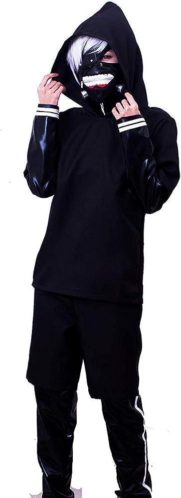 Amazon.com: Tokyo Ghoul Disfraz de Kaneki Ken con capucha ...