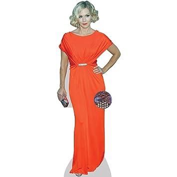 Celebrity Cutouts Jennie Garth Orange Pappaufsteller Lebensgross