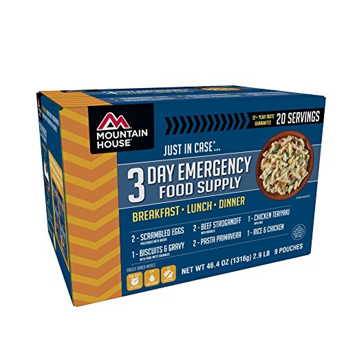 Mountain House 3-Day Emergency Food Supply Kit (Best 3 Day Pack)