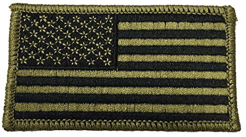 Multicam USA Flag Normal Facing (With Velcro) (Usa Velcro)