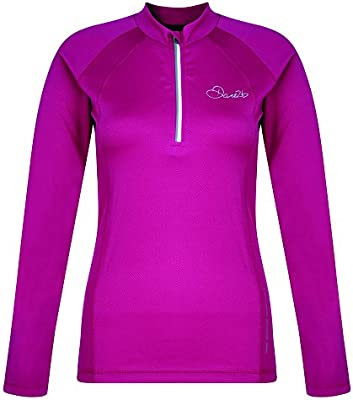 Womens Dare2b Ardent Long Sleeve Running Cycling Jersey