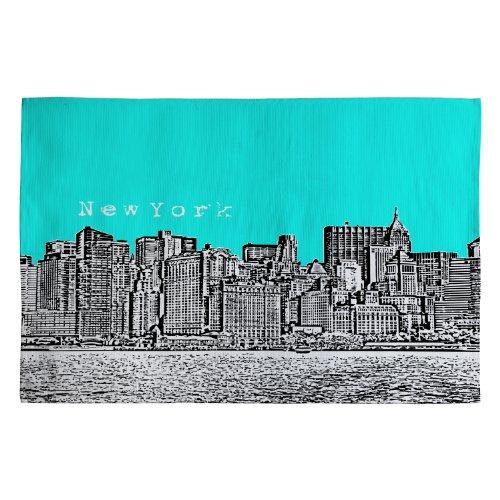 Deny Designs Bird Ave New York Aqua Woven Rug, 4 by 6-Feet Review