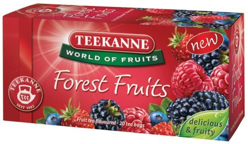 Teekanne Tea Forest Fruits 20 Bags by Teekanne (Pompadour)
