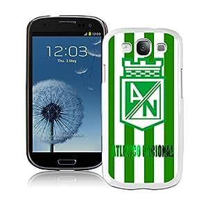 Popular Custom Designed Cover Case For Samsung Galaxy S3 I9300 With Atletico Nacional White Phone Case 1