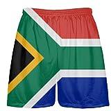 LightningWear South Africa Flag Shorts - Custom Sports Shorts Medium