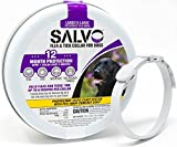 2 Flea Collar(s) - KILLS Flea Tick Lice Mosquitoes Eggs - Protection - DOG - SALVO