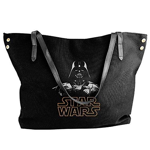 Darth Vader Star Wars Logo Handbag Shoulder Bag For Women (Darth Vader Purse)