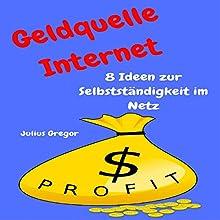 Geldquelle Internet: 8 Ideen zur Selbstständigkeit im Netz Hörbuch von Julius Gregor Gesprochen von: Markus Meuter