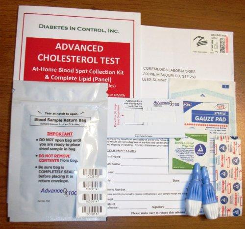 Cholestérol précise Accueil Test