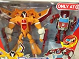 SUNSTORM vs RATCHET 2008 Transformers Animated TARGET Exclusive