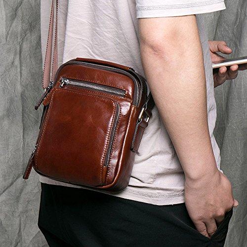 Fábrica Bolsa Marca Pequeña Marea Libre Mochila Bolso Aire De Hombres Los Hombro Bolsas Mini Zq Cuero Casual Al La O4fxAq