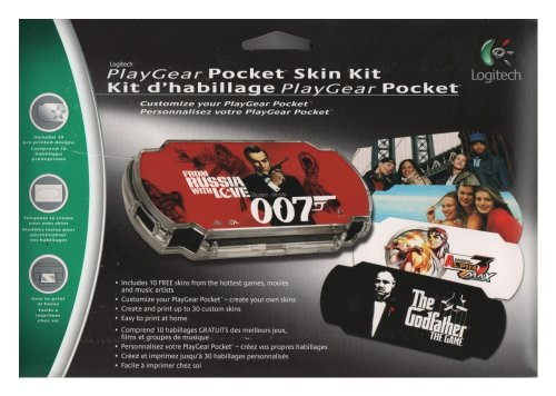 Logitech PSP PlayGear Pocket Skin Kit