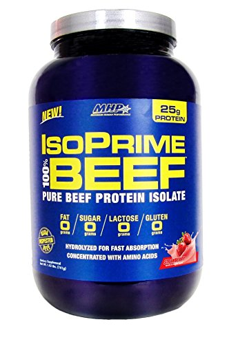Maximum Human Performance IsoPrime 100% Beef Isolate Powder