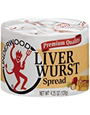 Underwood Liverwurst Spread 4.25 Ounce (Pack of 2)