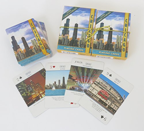 Chicago , Playing Cards, Double Deck Set ()