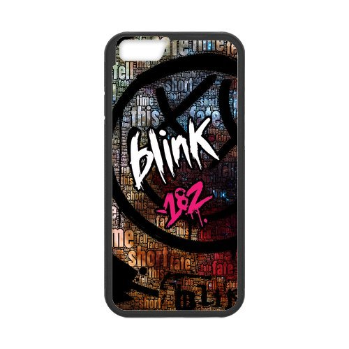 "Fayruz - iPhone 6 Rubber Cases, Blink 182 Hard Phone Cover for iPhone 6 4.7"" F-i5G356"