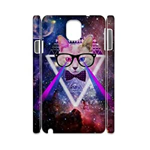Galaxy Hipster Cat DIY 3D Cover Case for Samsung Galaxy Note 3 N9000,personalized phone case ygtg551707