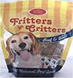 Fritters for Critters Beef and Bacon Flavor Cookies, Large Bones