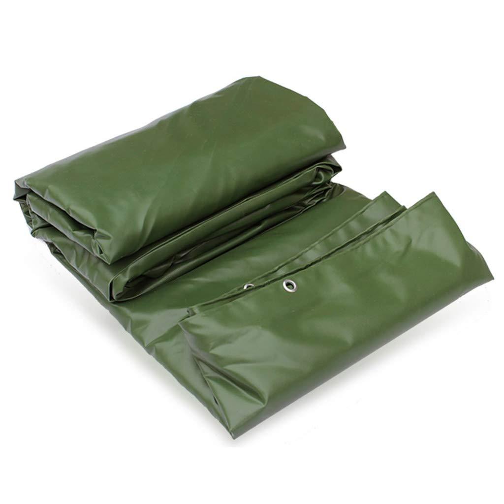 Verdicken Sie Regenschutztuch, Grün Farm-Plane Regendichte Plane PVC geklebt Canvas Sonnencreme Tuch Outdoor Staubdicht Tuch