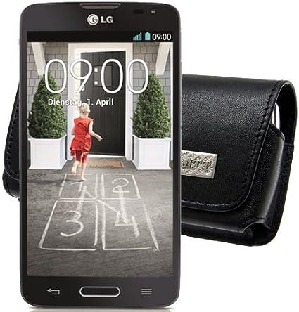 MTT – Funda para/LG L50 Sporty/Horizontal Funda de piel Funda ...