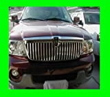 312 Motoring fits LINCOLN NAVIGATOR 2003-2006 CHROME GRILLE GRILL KIT 03 04 05 06 2004 2005 LIMITED LUXURY ULTIMATE ELITE