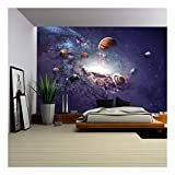 wall26 - High Resolution Images Presents Creating Planets of The Solar System. - Removable Wall...
