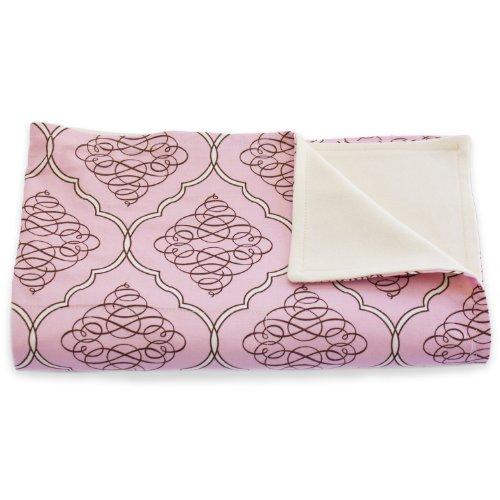 Neopolitan One Light - Organic Baby Blanket - Stroller Blanket - Soft & Light 100% Cotton - Baby Registry Shower Gift - USA Made (NEOPOLITAN)