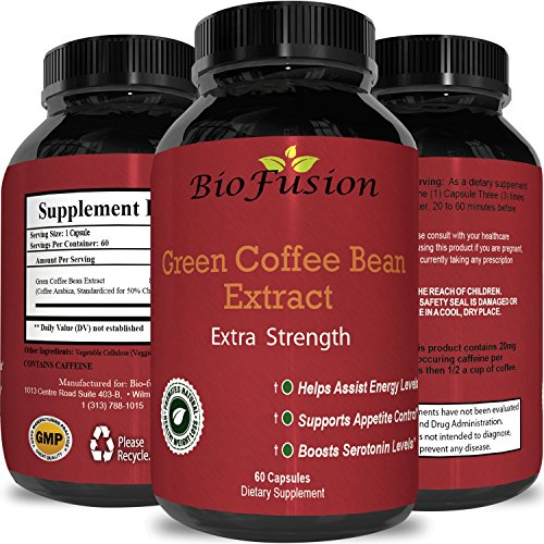 Green Coffee Bean Weight Loss Pills for Men & Women - All Na