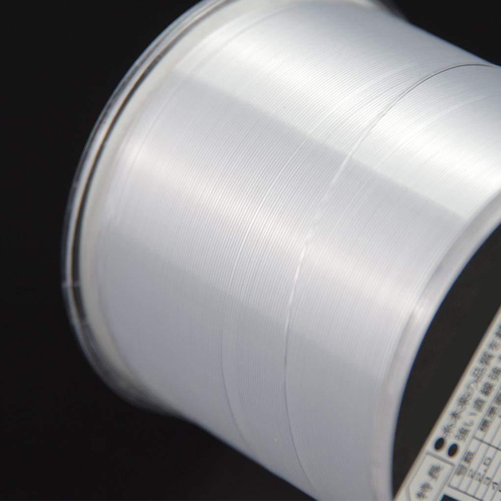 Laileya Ligne Nylon Forte Ligne de p/êche en Nylon 500M Japon Mat/ériel Monofilament Ligne Carpe Ligne de p/êche /équipement de p/êche