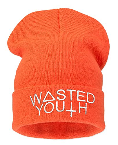 Universelle Wasted Orange Bonnet Noir Taille Noe Youth 4sold Homme AqIXwS