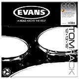 Evans G2 Tompack, Clear, Standard (12 inch, 13 inch, 16 inch)