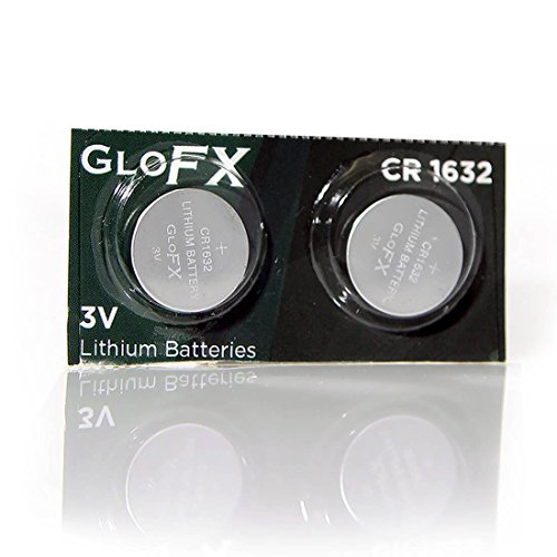 CR1632 Battery Lithium Button Coin Cell Batteries - 3V 3 Volt - remote watch jewelry led key fab replacement 1632 CR Pack Set Bulk (2 Pack)