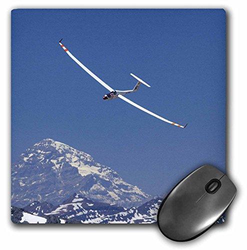 3dRose LLC 8 x 8 x 0.25 Airplane in FAI World Sailplane Grand Prix Chile David Wall Mouse Pad (mp_85859_1)