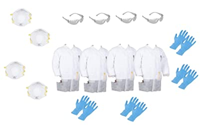 Extra Large Guantes desechables blanco 95