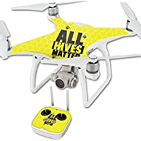 Skin For DJI Phantom 4 Quadcopter Drone – All Hives Matter | MightySkins Protective, Durable, and Unique Vinyl Decal wrap cover | Easy To Apply, Remove, and Change Styles | Made in the USA