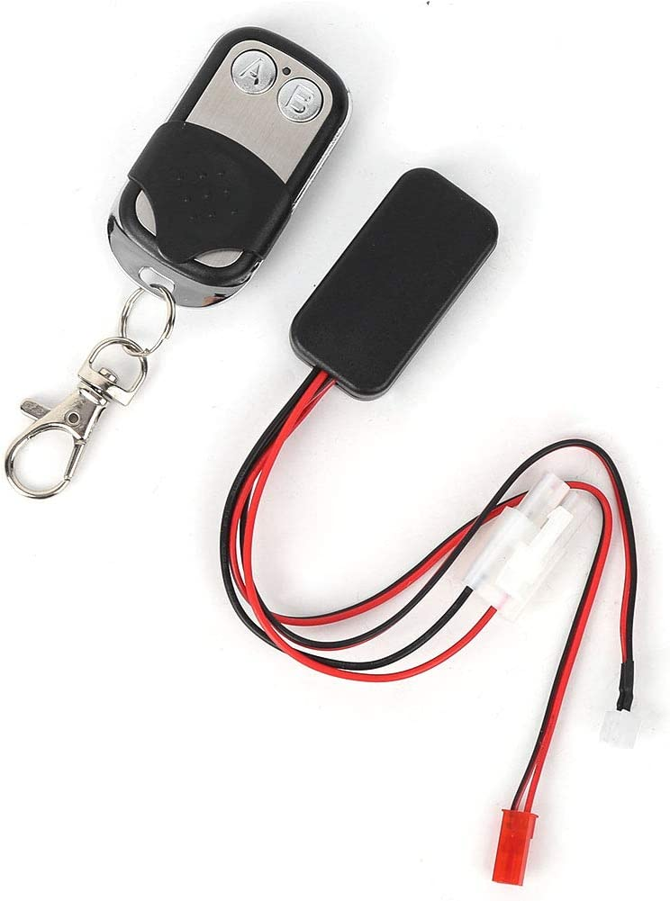 Cikuso Automatic Crawler Winch Control Remote Controller Receiver For 1//10 Rc Car Off-Road Scx10 D90 D110 Tf2 Trx4 Km2