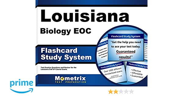 Louisiana biology eoc flashcard study system louisiana eoc test louisiana biology eoc flashcard study system louisiana eoc test practice questions exam review for the louisiana end of course exams cards louisiana fandeluxe Images