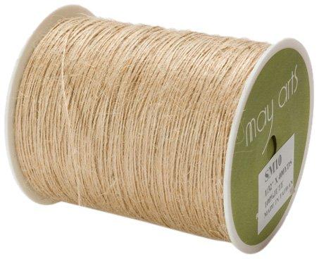 May Arts Ribbon, Natural Burlap String by May Arts