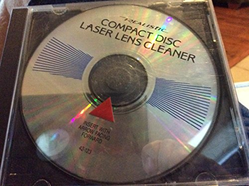 - Compact Disc Laser Lens Cleaner