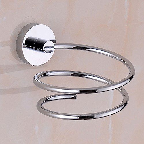 Stainless Steel Bathroom Hair Dryer Holder Hair Care Tools H