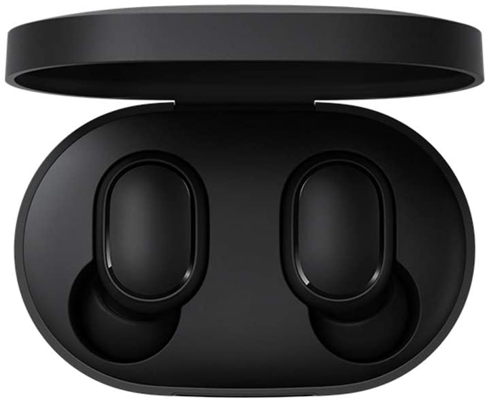 Xiaomi Mi True Wireless TWS Wireless Bluetooth 5.0 Auriculares Caja de carga Auriculares inalámbricos Bluetooth con verdadero sonido estéreo con micrófono Auriculares manos libres Control AI, negro