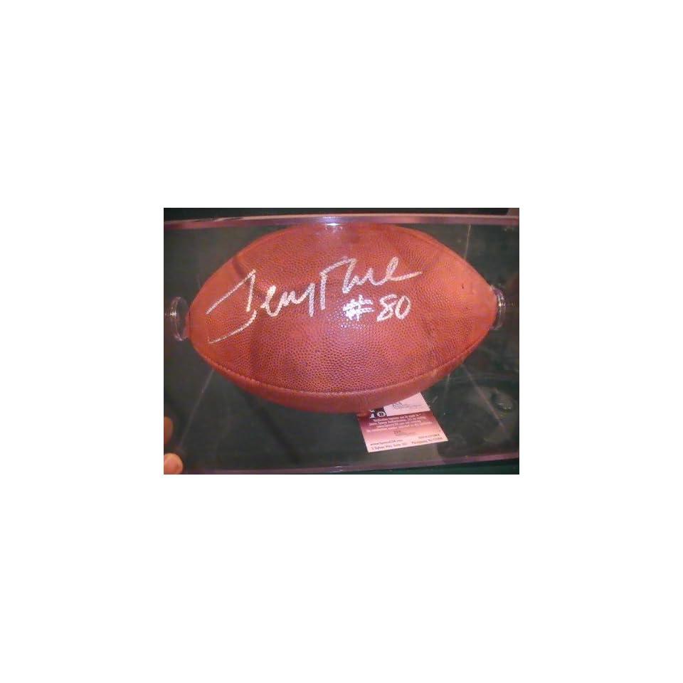 Jerry Rice San Francisco 49ers Jsa Coa Signed Autographed Full Size