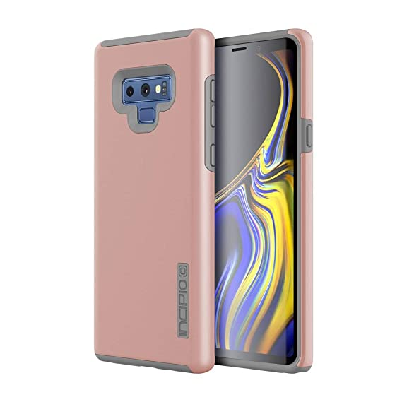huge selection of 30fad 0b8c9 Incipio DualPro Samsung Galaxy Note 9 Case with Shock-Absorbing Inner Core  & Protective Outer Shell for Samsung Galaxy Note 9 - Iridescent Rose ...