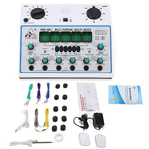 KWD-808I Pulse Electrotherapy Acupuncture Instrument,6 Electric Kwd-808Acupuncture Stimulator Machine Output Patch Massager Care Us Channels Outputs from LOYALHEARTDY19