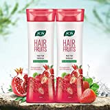 Joy Hair Fruits Hair Fall Defense Conditioner and Shampoo With Pomegranate & Strawberry Natural Ingredients (Pack of 2 X 400ml)