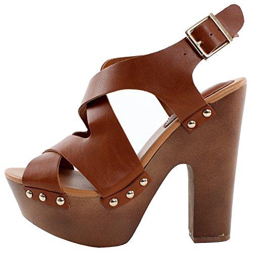 47390869066 Breckelles Renee-23 Platform Sandals